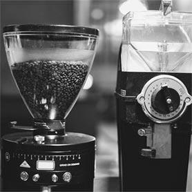 Kaffeemühle in der Einbecker Kaffeerösterei