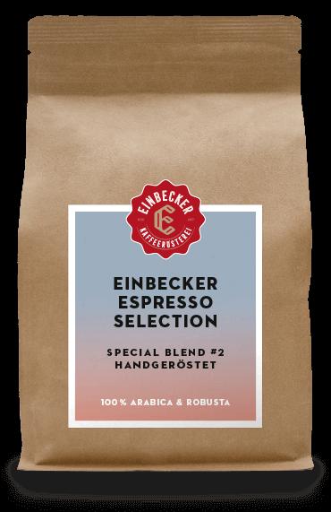 Einbecker Espresso Selection - Special Blend #2 - Handgeröstet - 100 % Arabica & Robusta